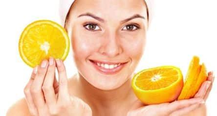 Vitamin C na plet